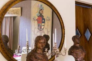 Specchio con riflessi